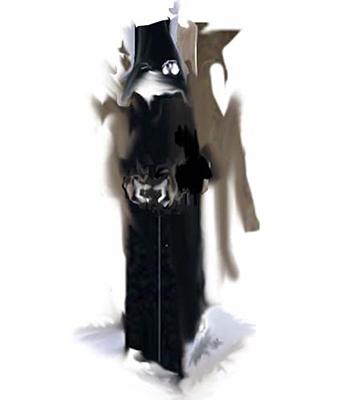 sorcier noir