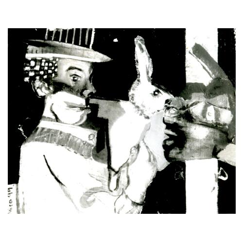 J B & le lapin tableau