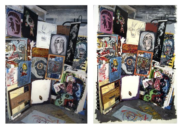 mur de toiles x2 copie