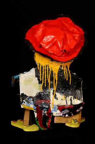 peintre dos