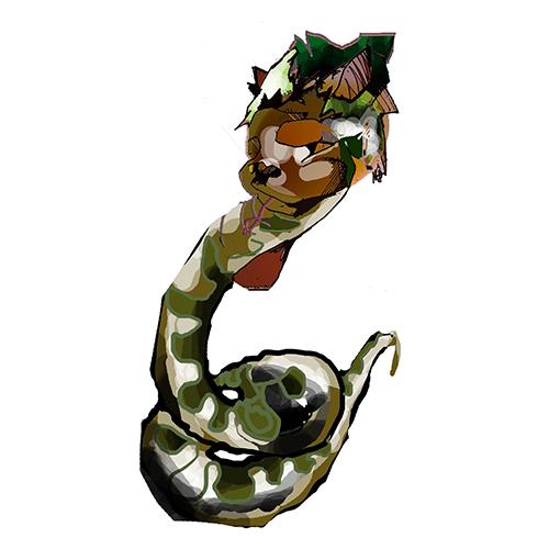 jeune serpent